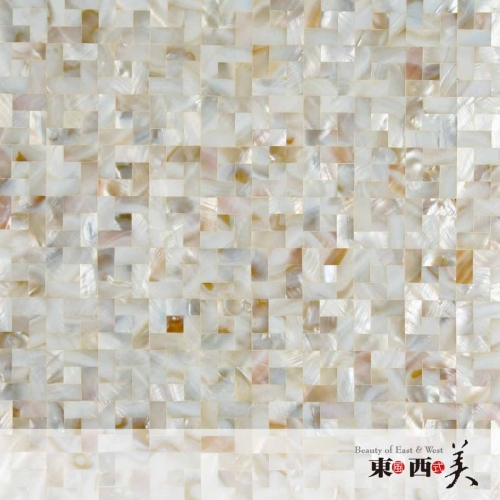 Mosaic Mother of Pearl Oyster White Tile