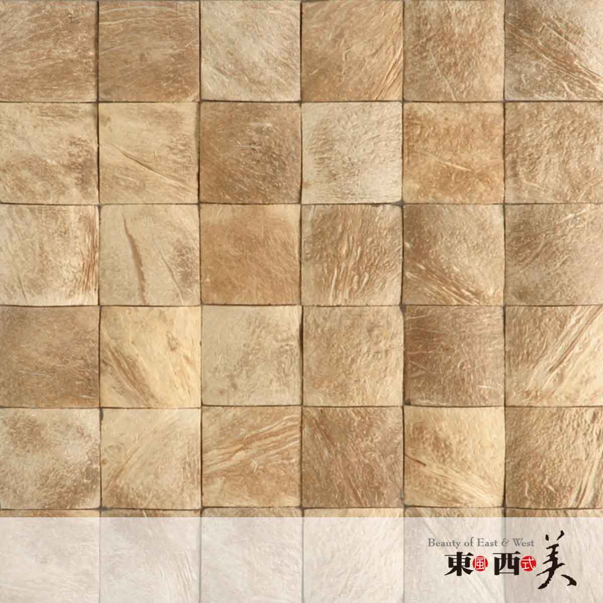 Decorative Mosaic Coconut Tiles for Wall Decor | Coconut Tiles Suppliers