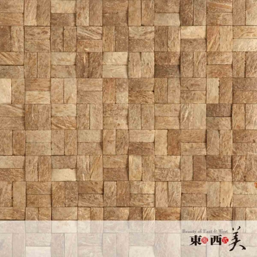 Coconut Shell Chips for Wall Panels