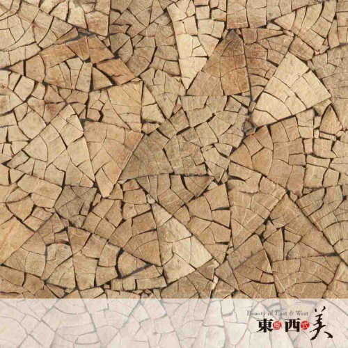 Seamless Coconut Palm Wood Tiles