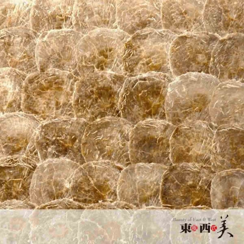 Gold Capiz Mother of Pearl Shell Tile