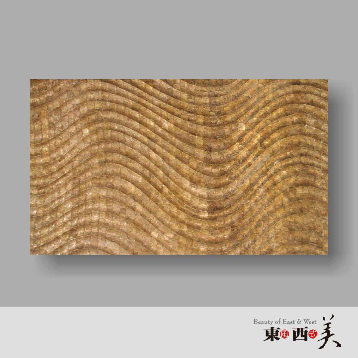 Gold 3d capiz wall decor panels capiz shell wall decor for Gold wall art