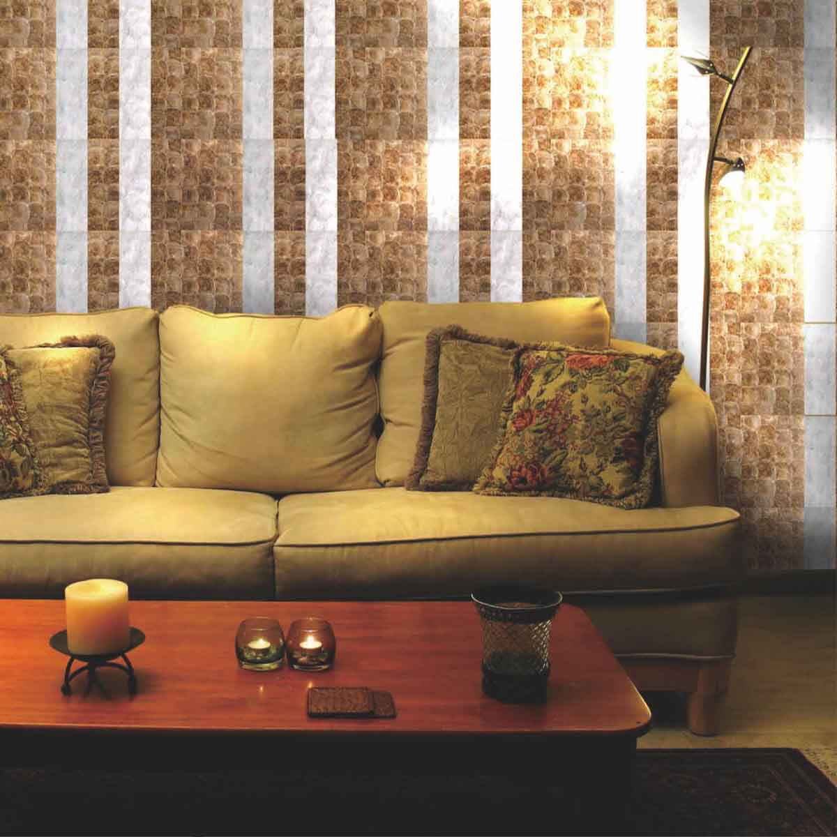 Capiz Shell Wallpaper For Modern House Decor