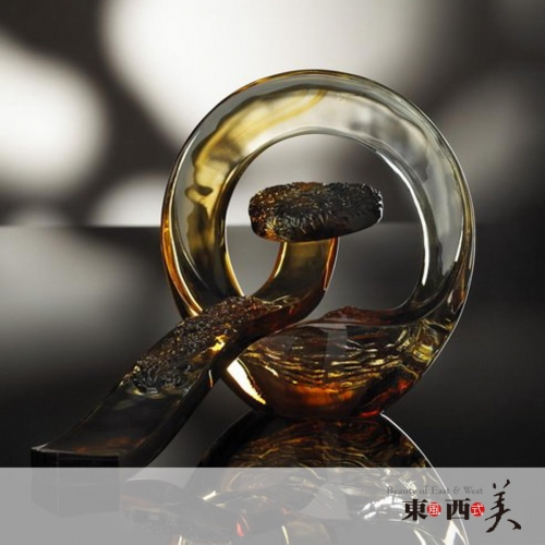 Chinese Liuli Crystal Glass Collectibles