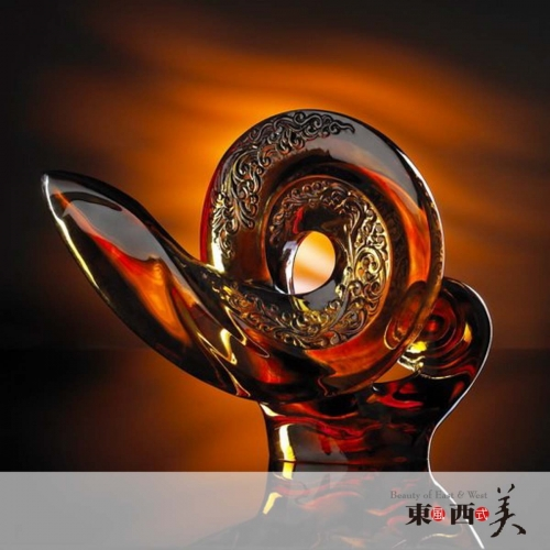 Liuli Glass Art Decor Figurine for Sale