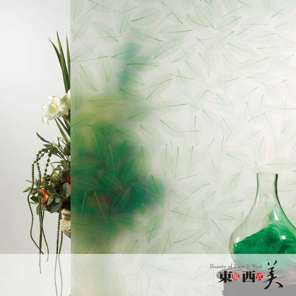 Green Leaf Resin Wall Panels for Sale