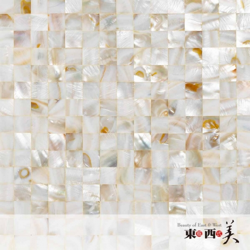 SHN-2112 White Mother of Pearl Mosaic Tiles