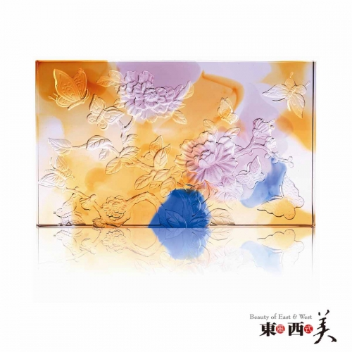 Crystal Liuli Flower Colored Glass Sheets